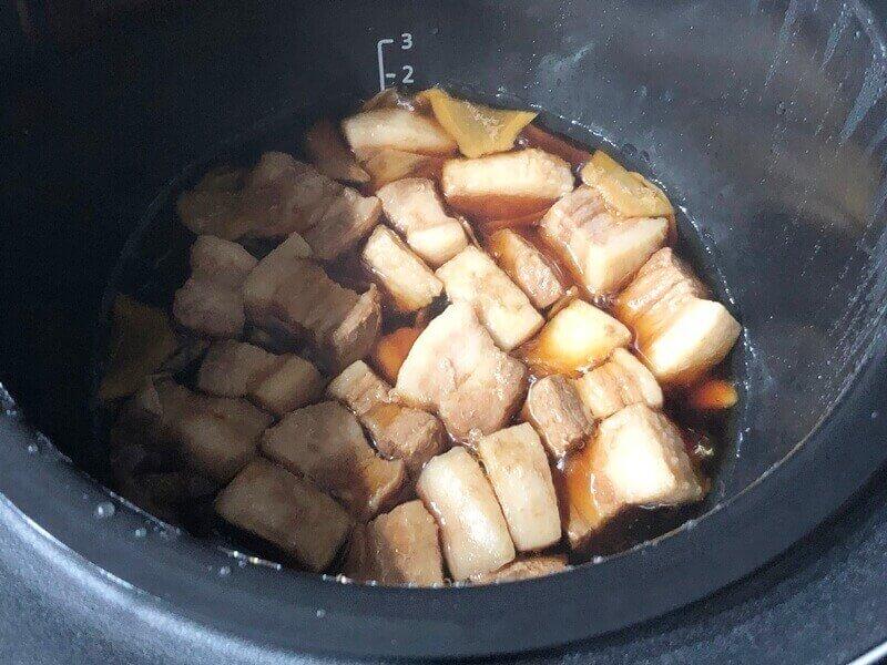 ホットクックで豚の角煮