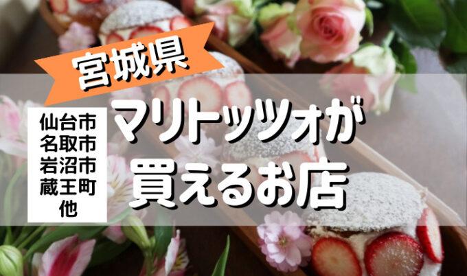 マリトッツォ 仙台市 宮城県 買える店
