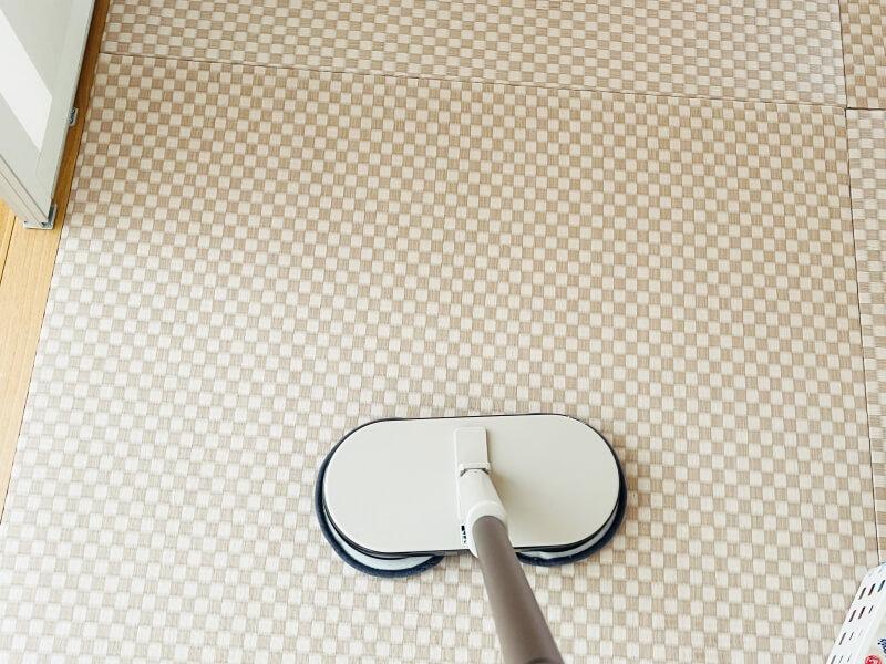 電動モップ 畳も掃除できる