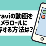 paraviの動画をカメラロールに保存するには?iPhone・パソコン